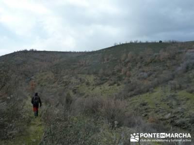 Cascadas del Aljibe;senderos de españa;mapas rutas senderismo